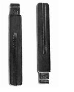 Лезвие для ключа VOLVO NE66