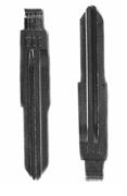 Лезвие для ключа Chery E5