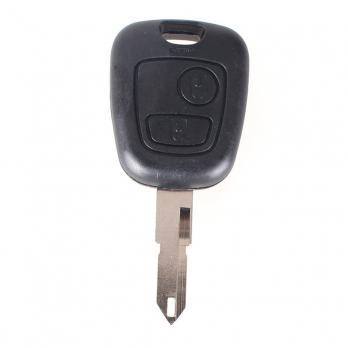 Ключ зажигания для автомобиля Renault NE72 с двумя кнопками